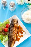 Grilled Saba Stock Images