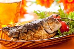 Grilled Saba Royalty Free Stock Image