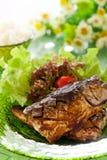 Grilled Saba Stock Photos