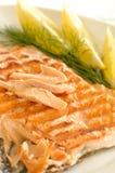 Grilled salmon Stock Photos