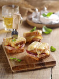 Grilled sandwich Stock Photography