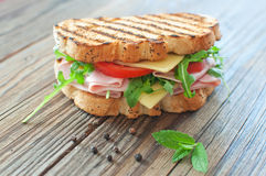 Grilled sandwich Stock Photos