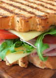 Grilled sandwich Stock Image
