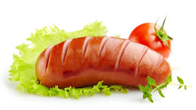 Free Grilled Sausage Stock Photography - 28224482