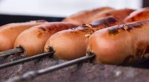 Free Grilled Sausage Royalty Free Stock Photos - 49245938
