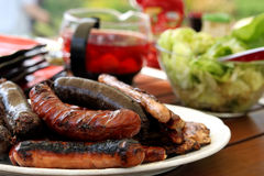 Grilled sausage Royalty Free Stock Image