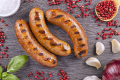Free Grilled Sausage Stock Photography - 68992002