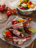 Grilled sausage Royalty Free Stock Images