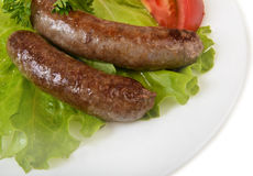 Grilled sausage Royalty Free Stock Photos