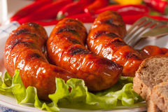 Grilled sausage. Stock Image