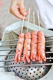 Grilled sausage Royalty Free Stock Photo