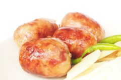 Grilled Sausage - Thai Style Stock Image