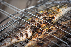 Grilled Sea Bass Stock Images