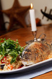 Grilled Sea Bream Royalty Free Stock Photos