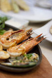 Grilled Seafood Royalty Free Stock Photos