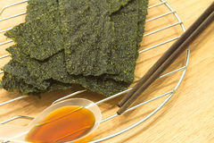 Grilled Seaweed Royalty Free Stock Image