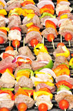GRILLED SHISH KABOBS Royalty Free Stock Photography