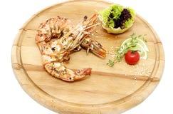 Grilled Shrimp Stock Photos