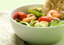 Grilled Shrimp Salad Stock Images