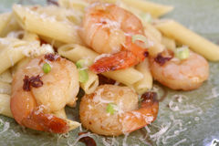 Grilled shrimps Stock Image
