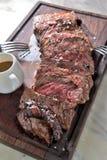 Sirloin steak Royalty Free Stock Images