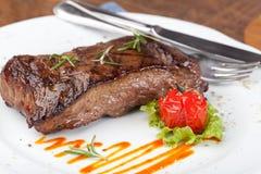 Grilled sirloin steak Stock Image