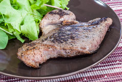 Grilled Sirloin Steak Royalty Free Stock Images