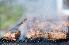 Grilled smoked pork Royalty Free Stock Photos