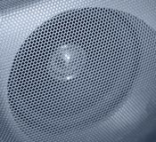 Grilled speaker detail Royalty Free Stock Photos