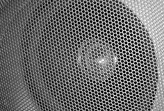 Grilled speaker detail Stock Image
