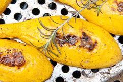 Grilled Squash Stock Photography