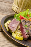 Grilled Steak Royalty Free Stock Photos