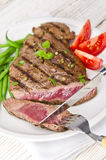 Grilled Steak. Barbecue Stock Photography