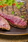 Grilled Steak. Barbecue Royalty Free Stock Photography