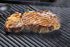 Grilled steak Royalty Free Stock Photo