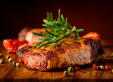 Free Grilled Steak Closeup Detail Royalty Free Stock Photo - 38080835