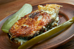Grilled steak cod Royalty Free Stock Image