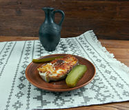 Grilled steak cod Royalty Free Stock Photography