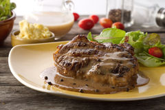 Grilled steak flavoured Royalty Free Stock Image
