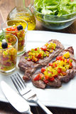 Grilled Steak Meat Royalty Free Stock Images