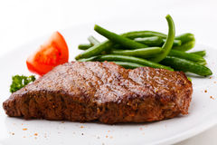 Grilled steaks Stock Image