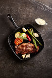 Grilled Strip Steak Stock Image