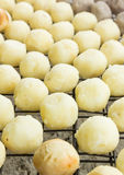 Grilled sweet cassava ball (Thai Dessert) Stock Photography