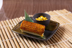 Grilled Sweet Corn Royalty Free Stock Images