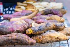 Grilled sweet potato Royalty Free Stock Photo