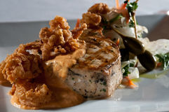 Grilled swordfish Royalty Free Stock Image