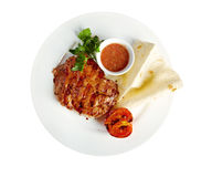 Grilled t-bone steak Royalty Free Stock Photo