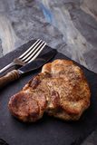 Grilled T-bone steak Stock Images