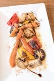 Grilled taraba japanese king crab Stock Photos