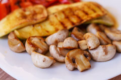 Grilled Tasty Vegetables Stock Photography